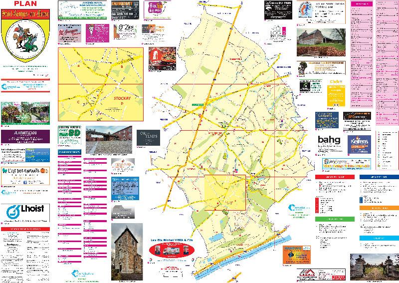 Carte de Saint-Georges-sur-Meuse